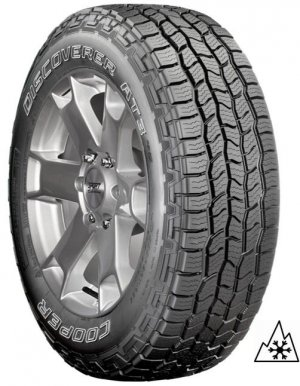 Cooper 235/75 R17 DISCOVERER AT3 4S 109T OWL